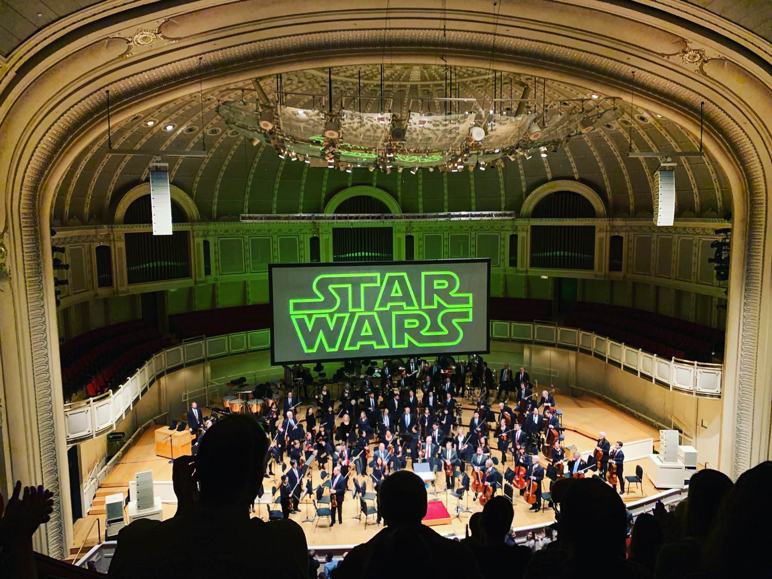 Tonight, I got to experience Empire played by the Chicago Symphony Orchestra