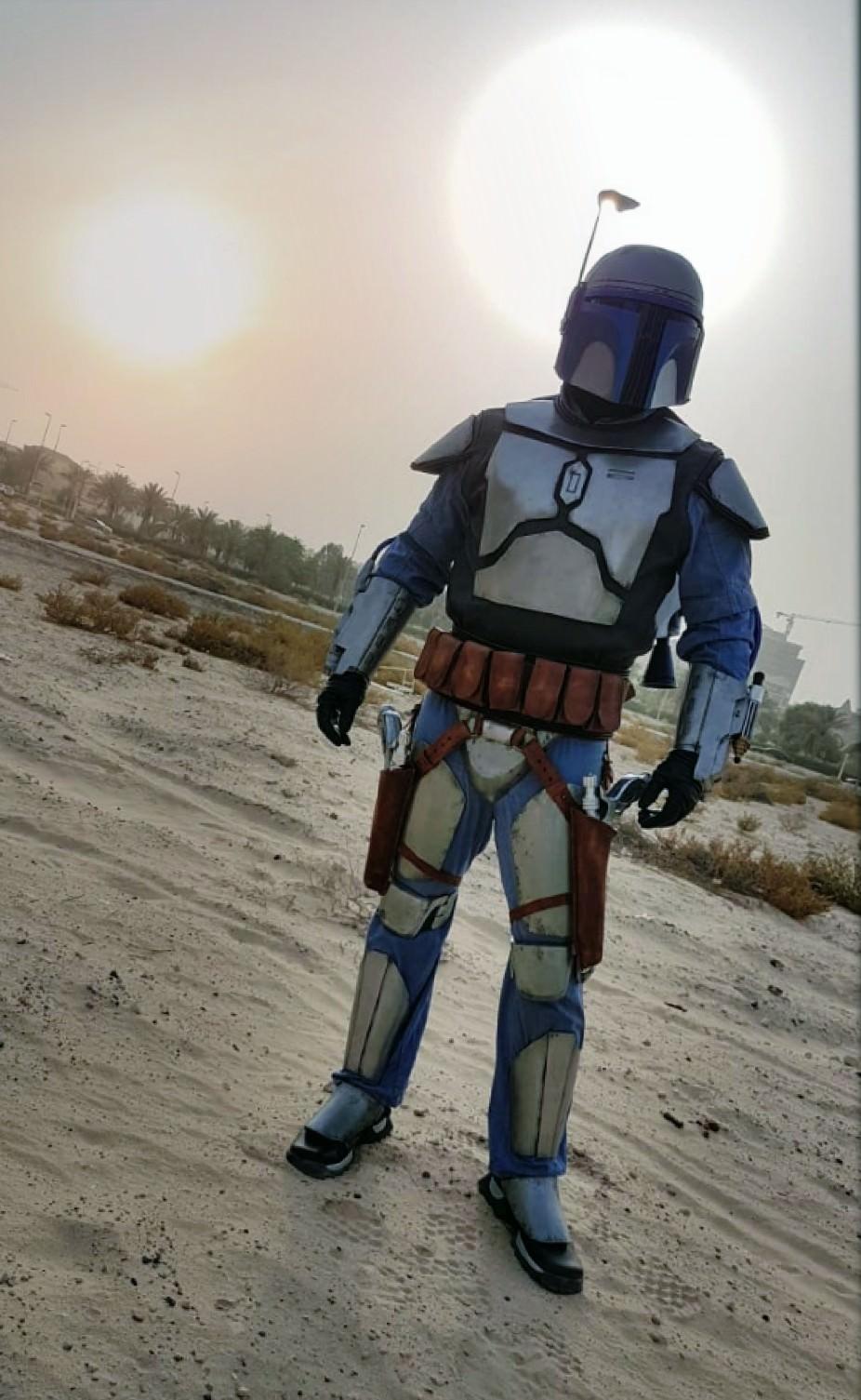 My cleared Jango Fett costume with 501st Legion