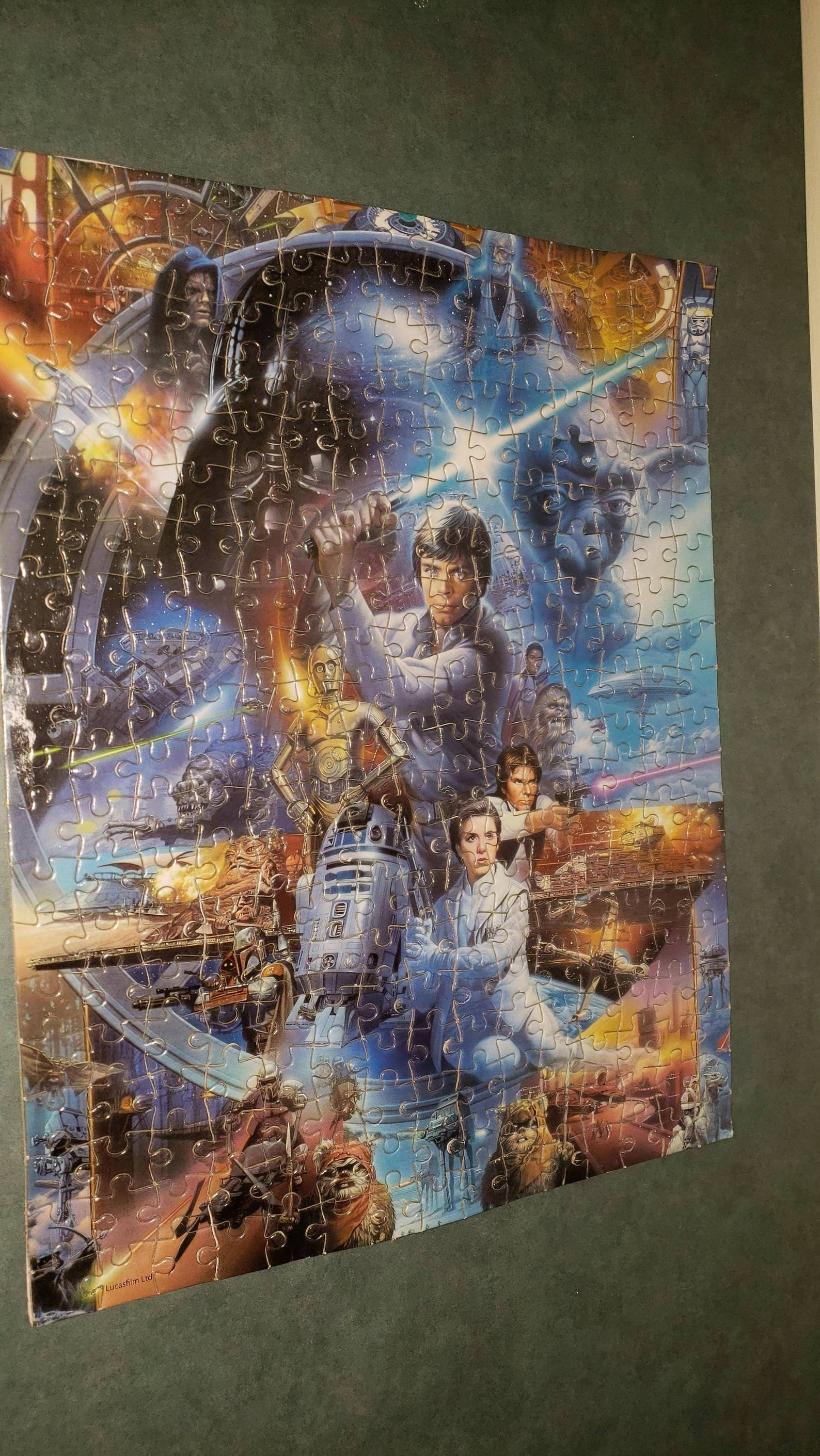 This puzzle posted in the Kid Zone at my gym