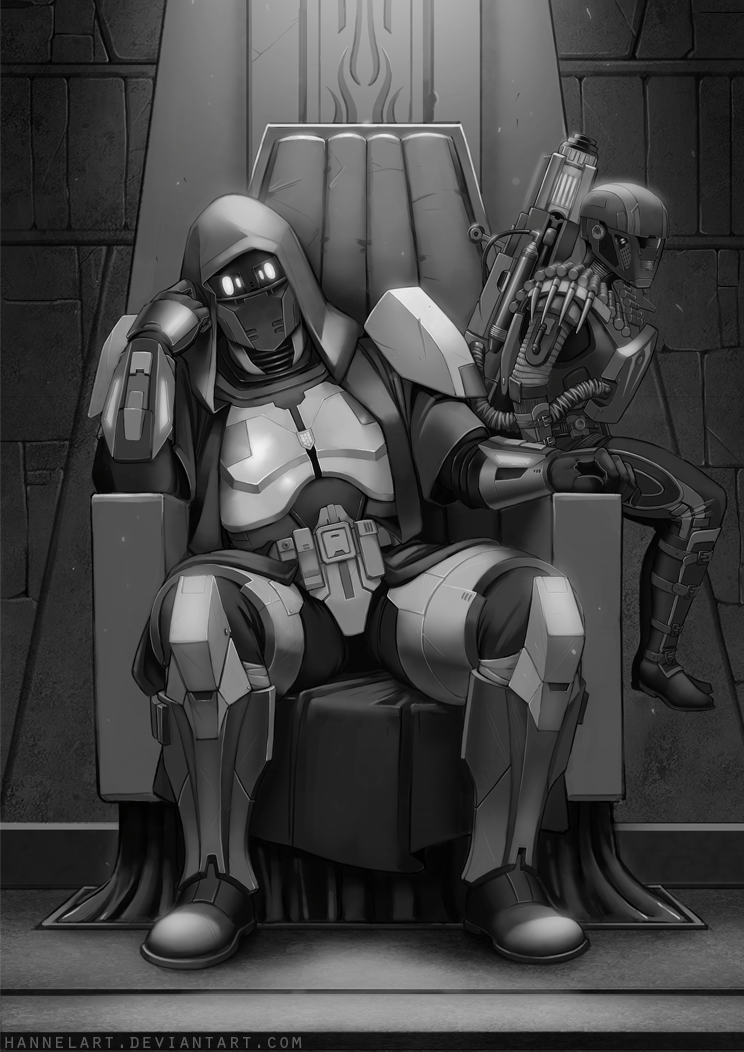 Sith Inquisitor and his Merc companion