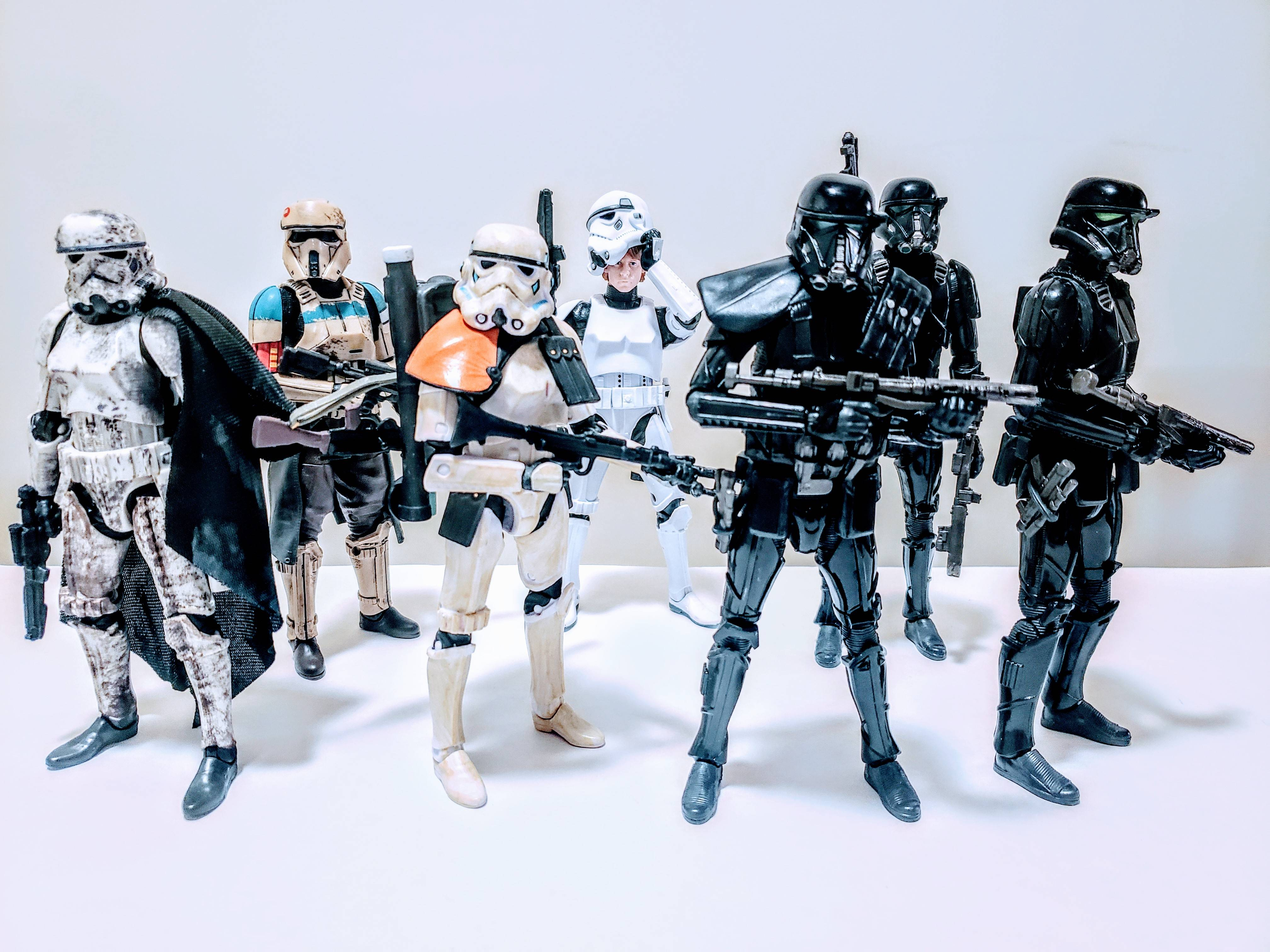 Unpacking and had to get a Trooper group shot. Need more Troops.