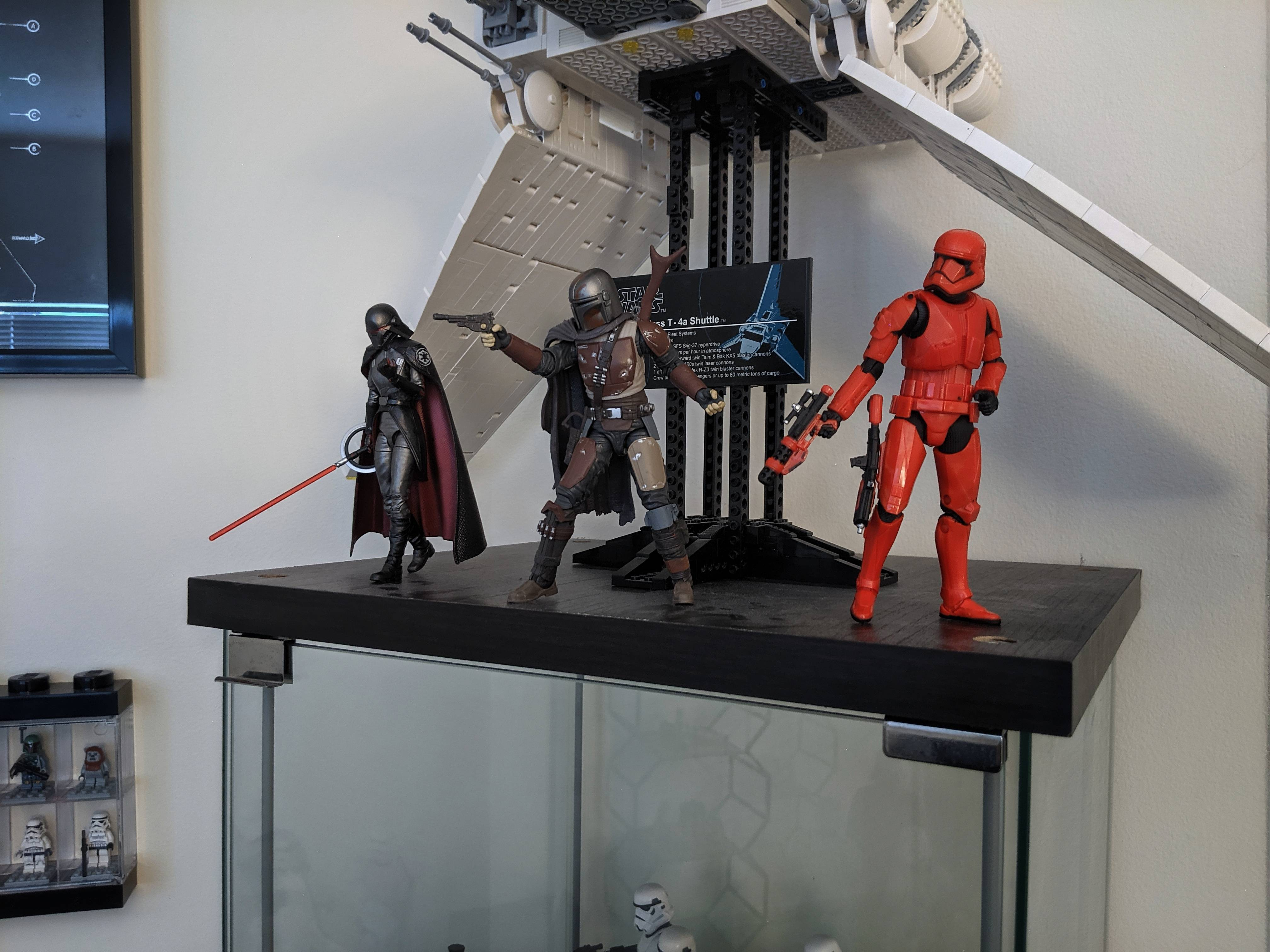 I\'ve never bought Black Series figures before but this run of them is fantastic.
