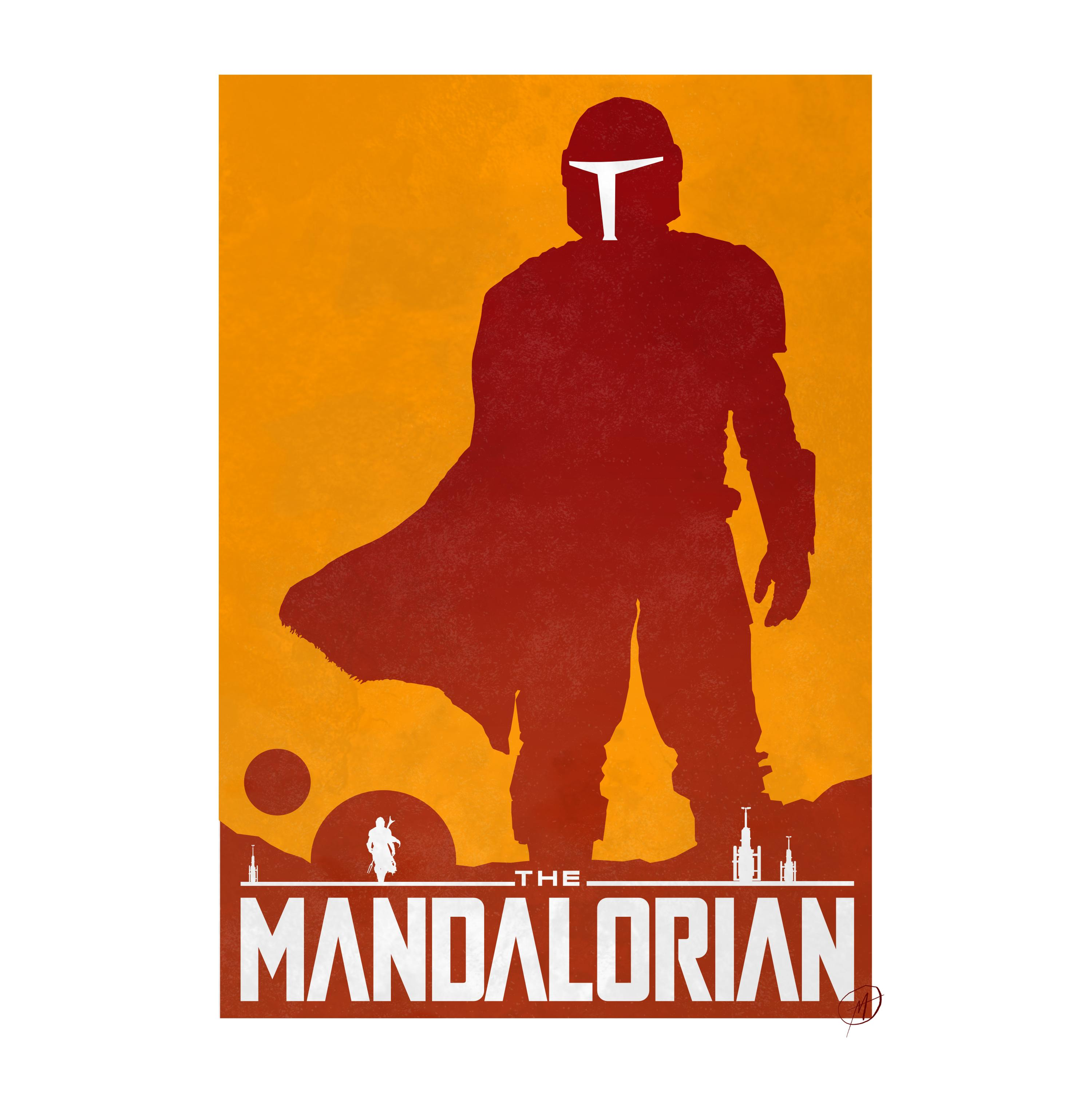 Super excited for The Mandalorian so I made this!