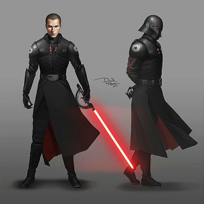 Starkiller as the new grand Inquisitor while maintaining his position as Vader\'s secret apprentice