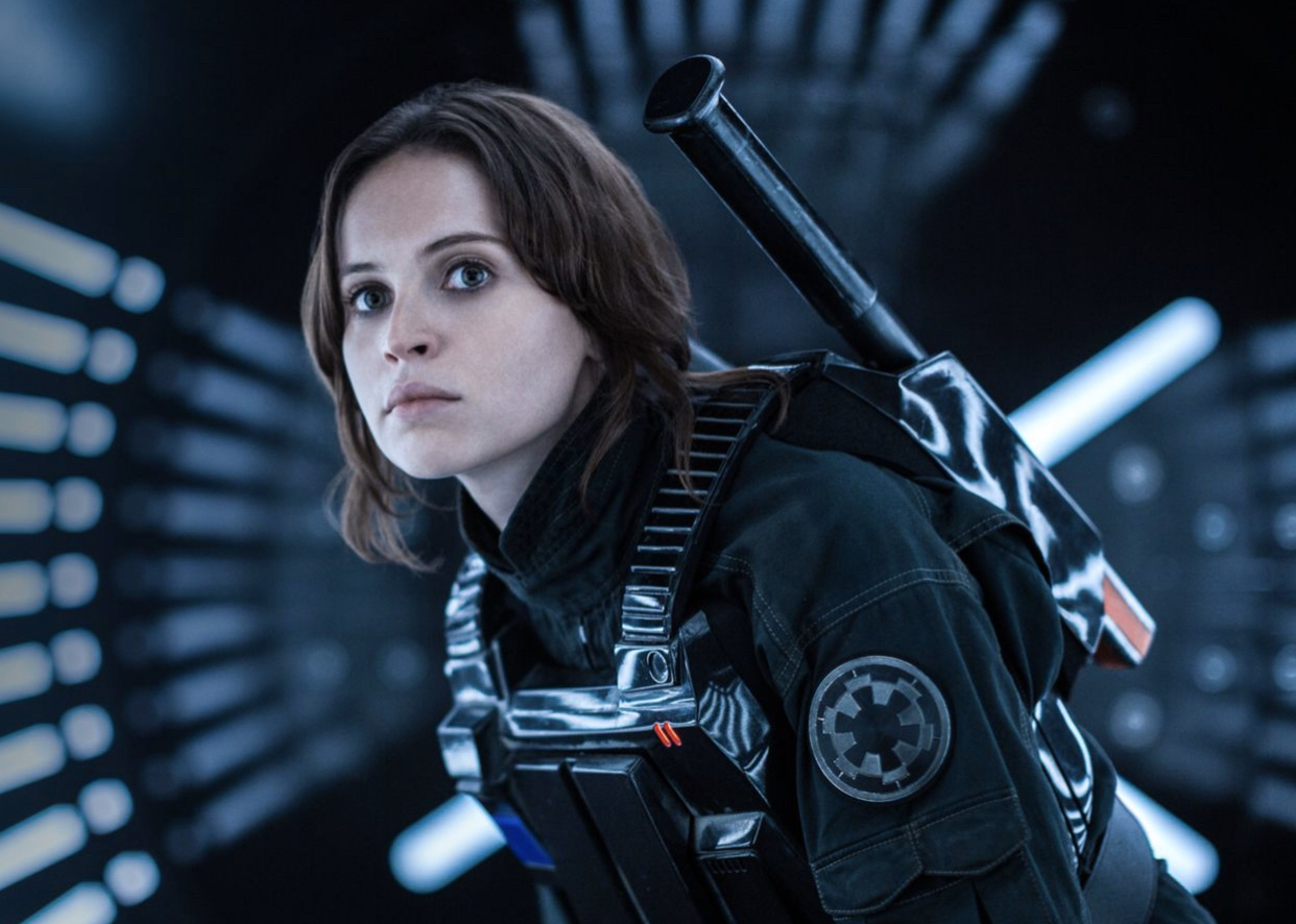 A Felicity Jones appreciation post for doing such a great job playing as Jyn Erso