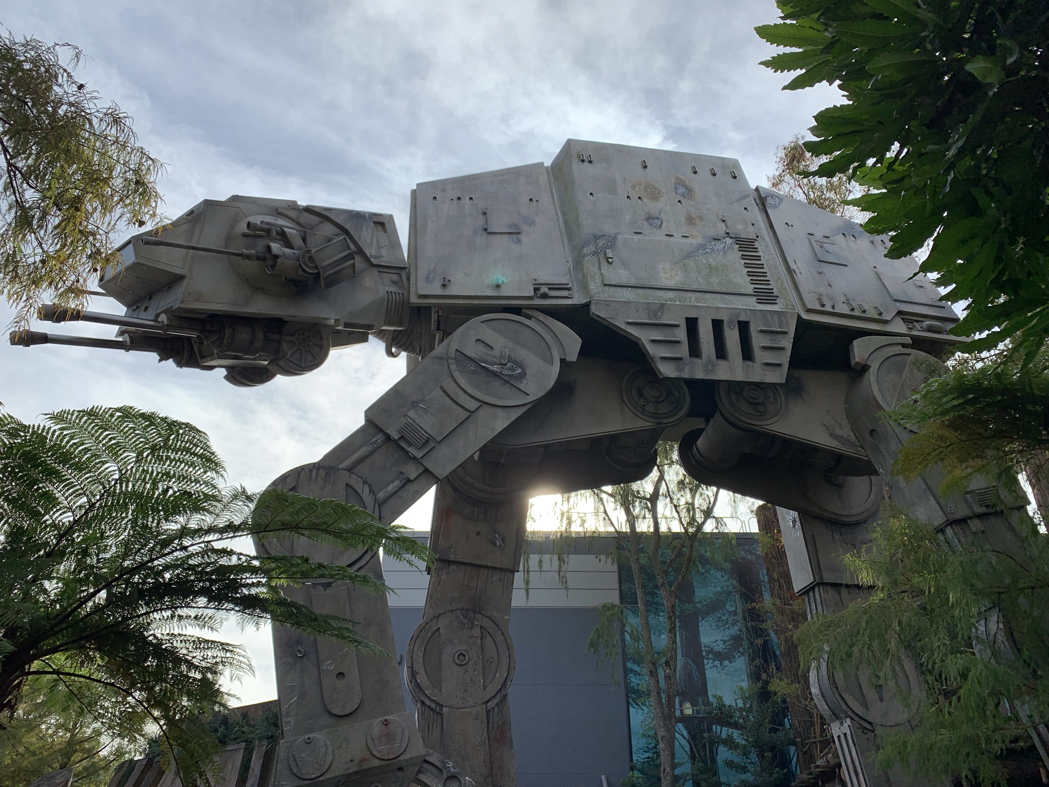 Visited Disney World the other week and was SO excited to see this life sized AT-AT!