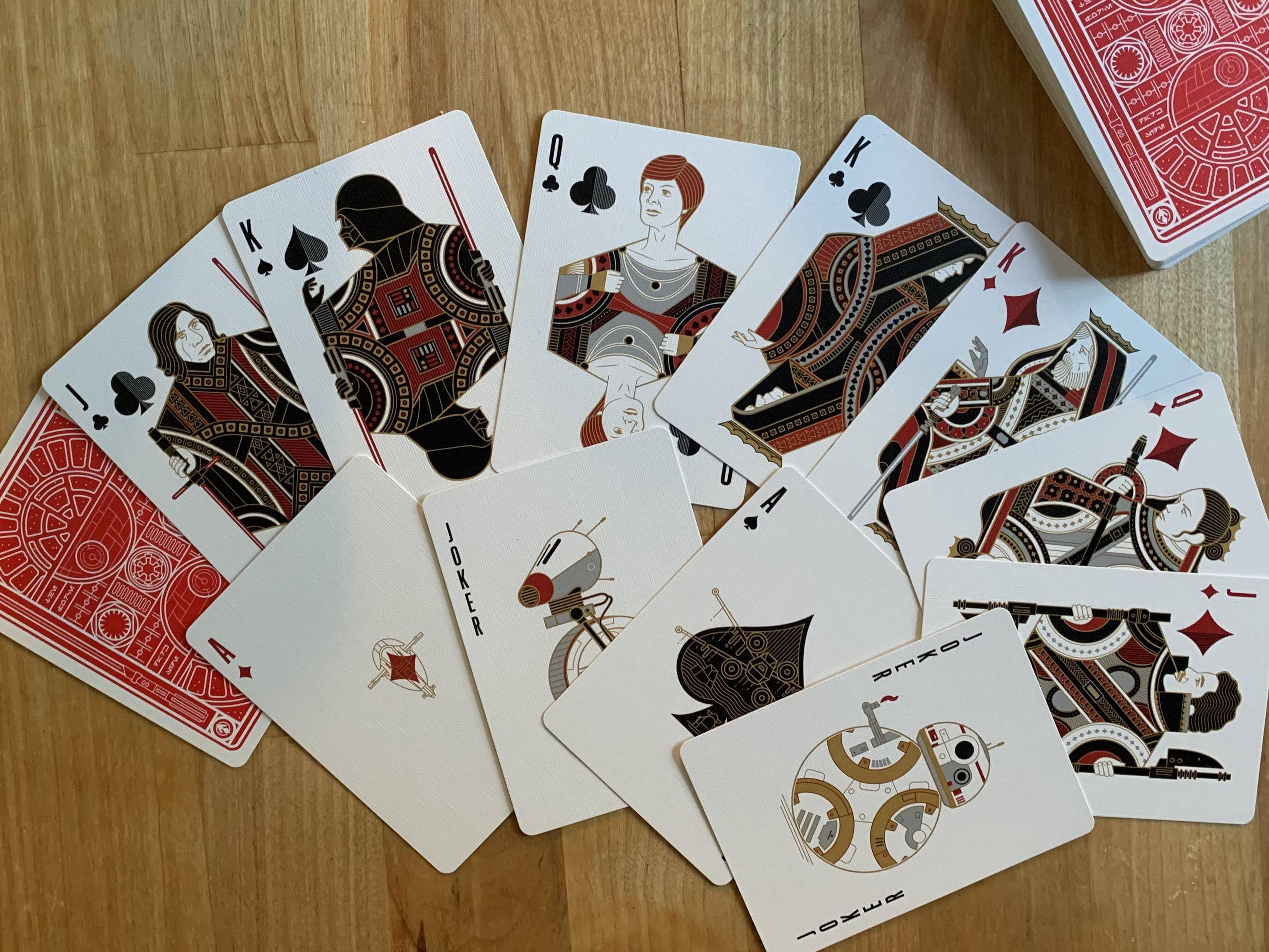 Hands down the coolest set of playing cards