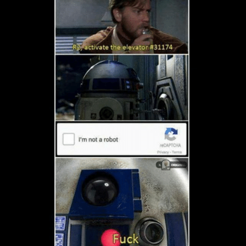 Good thing R2 wasn\'t our only hope