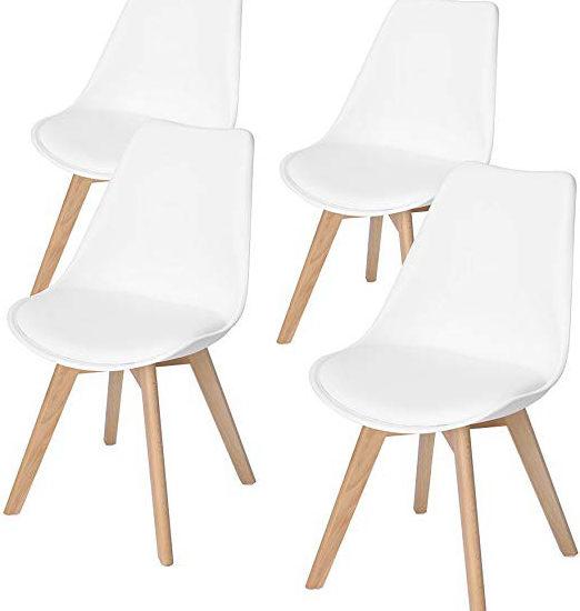 2 sedie in legno massello bianche cucina tavolo sala da pranzo salotto moderne. Le 10 Migliori Sedie Ikea Al Prezzo Piu Basso I10migliori It