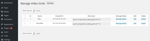 WordPress-video-grid-pro-manage-video-grids