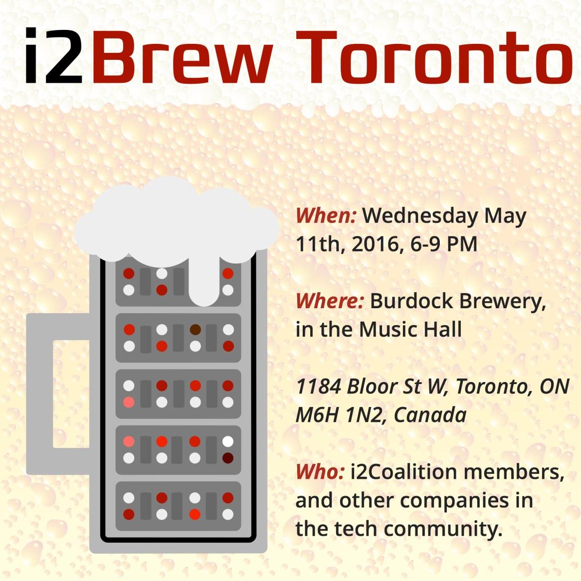i2Brew Toronto May 2016 STD