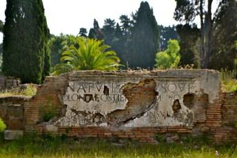 iscrizione mura
