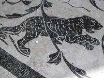1068 Ostia - Terme dei Sette Sapienti - runde Halle - Raum 7 - Panther II