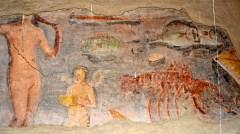 Terme dei Sette Sapienti, Fresco - Sequi