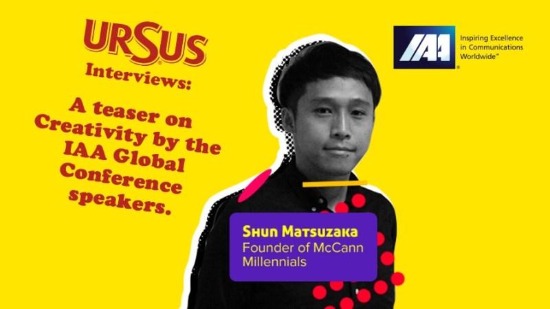 Shun Matsuzaka, founder of McCann Millennials