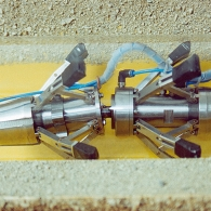 Rohrraupe mit Sensortechnik