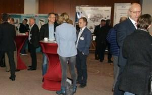 Bild Ausstellungsfläche und fachlicher Diskurs bei den Wissenschaftstagen 2017