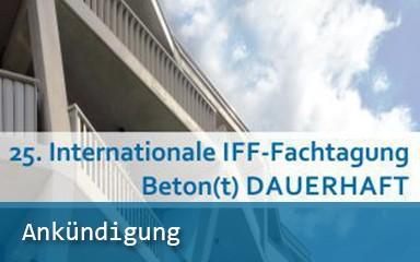 Bild 25. Internationale IFF-Fachtagung | IAB-Wissenschaftstage 2018