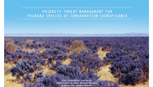 Prioritising the management of threat affecting the Pilbara species: conversation article and report available