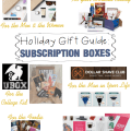 Holiday Gift Guide: Subscription Boxes - via www.iadorewhatilove.com