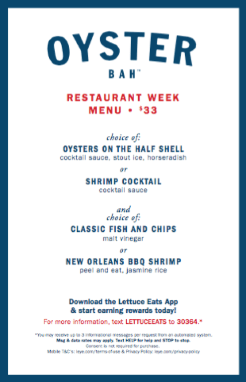 I Adore What I Love - The Top Chicago Restaurant Week 2016 Menus That Appeal to Everyone - Oyster Bah