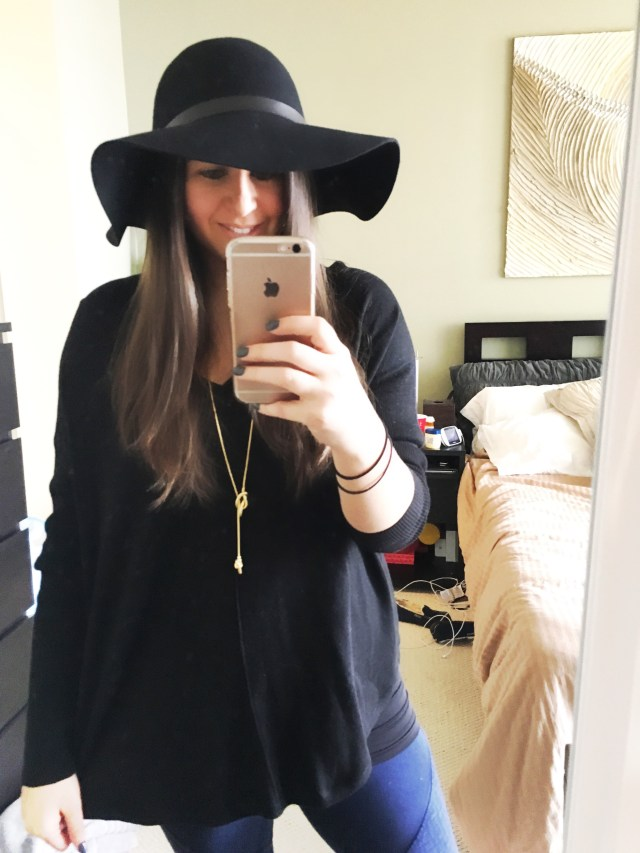 I Adore What I Love Blog // Weekly Wins #3 // Black Floppy Hat 2// www.iadorewhatilove.com #iadorewhatilove