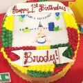 I Adore What I Love Blog // Brody's First Birthday Party - The Planning // Sheet Cake // www.iadorewhatilove.com #iadorewhatilove