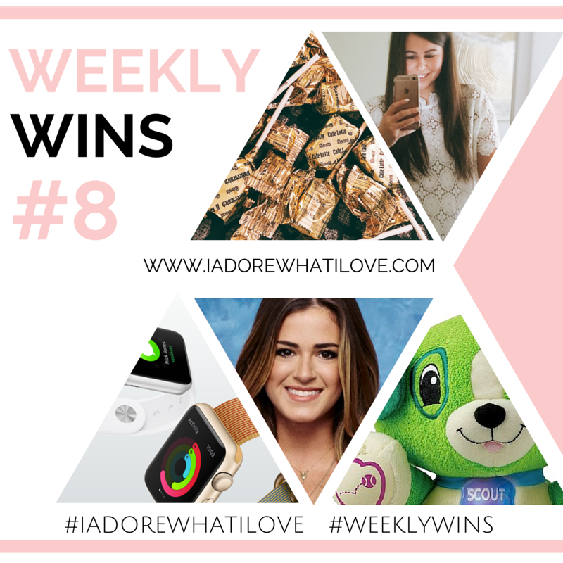 I Adore What I Love Blog // Weekly Wins #8 // Featured Image // www.iadorewhatilove.com #iadorewhatilove