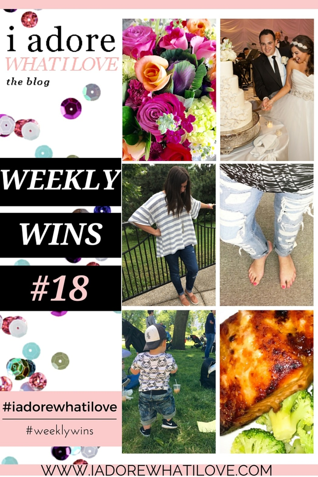 I Adore What I Love Blog // WEEKLY WINS #18 // www.iadorewhatilove.com #iadorewhatilove