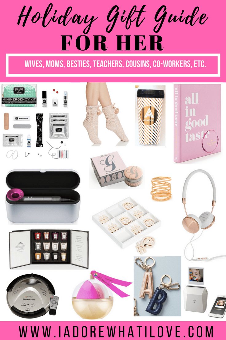 Holiday Gift Guide for HER // I Adore What I Love Blog //   sc 1 st  I Adore What I Love Blog & Holiday Gift Guide for HER - I Adore What I Love Blog