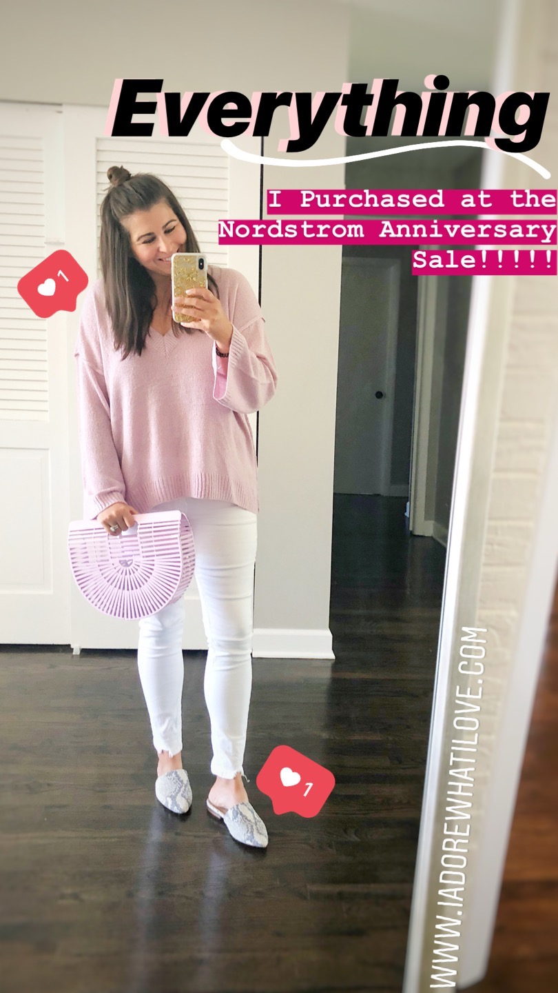 Everything I Purchased at the Nordstrom Anniversary Sale :: I Adore What I Love Blog :: www.iadorewhatilove.com #iadorewhatilove