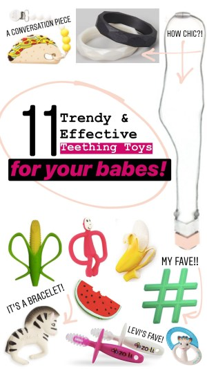 11 Trendy & Effective Teething Toys for your Babes :: I Adore What I Love Blog :: www.iadorewhatilove.com #iadorewhatilove