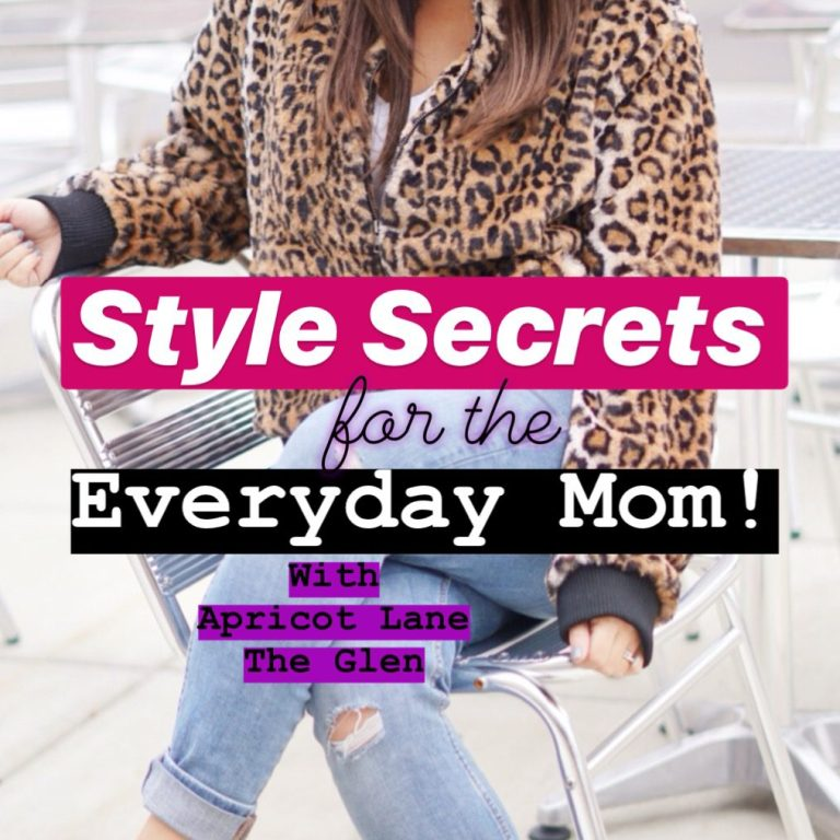 Style Secrets for the Everyday Mom with Apricot Lane The Glen :: I Adore What I Love Blog :: www.iadorewhatilove.com #iadorewhatilove