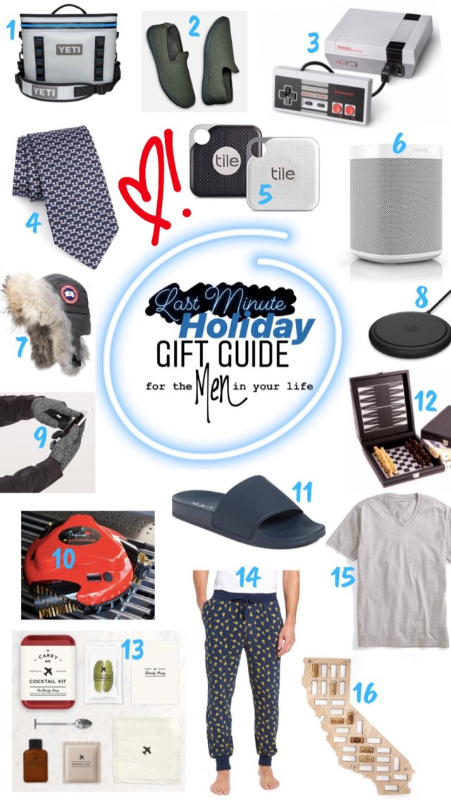 Last Minute Holiday Gift Guide for the MEN in Your Life :: I Adore What I Love Blog :: www.iadorewhatilove.com #iadorewhatilove