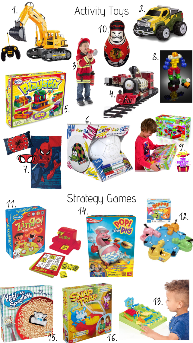 16 Birthday Gifts Every 4-Year-Old Boy will LOVE :: I Adore What I Love Blog :: www.iadorewhatilove.com #iadorewhatilove