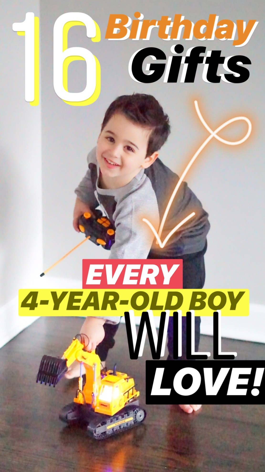 16 Birthday Gifts Every 4 Year Old Boy Will LOVE I Adore
