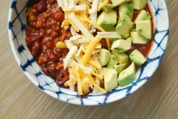 THE BEST EASY AND CLASSIC CROCKPOT TURKEY CHILI YOU'LL EVER EAT :: I Adore What I Love Blog :: www.iadorewhatilove.com #iadorewhatilove