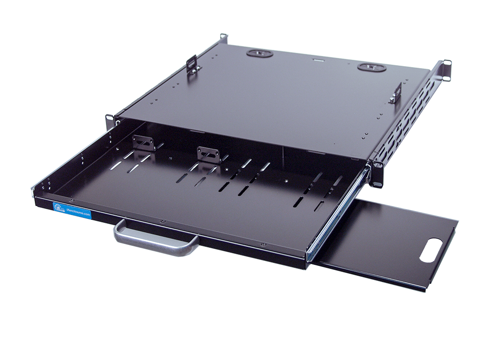 rackmount keyboard drawer or tray with