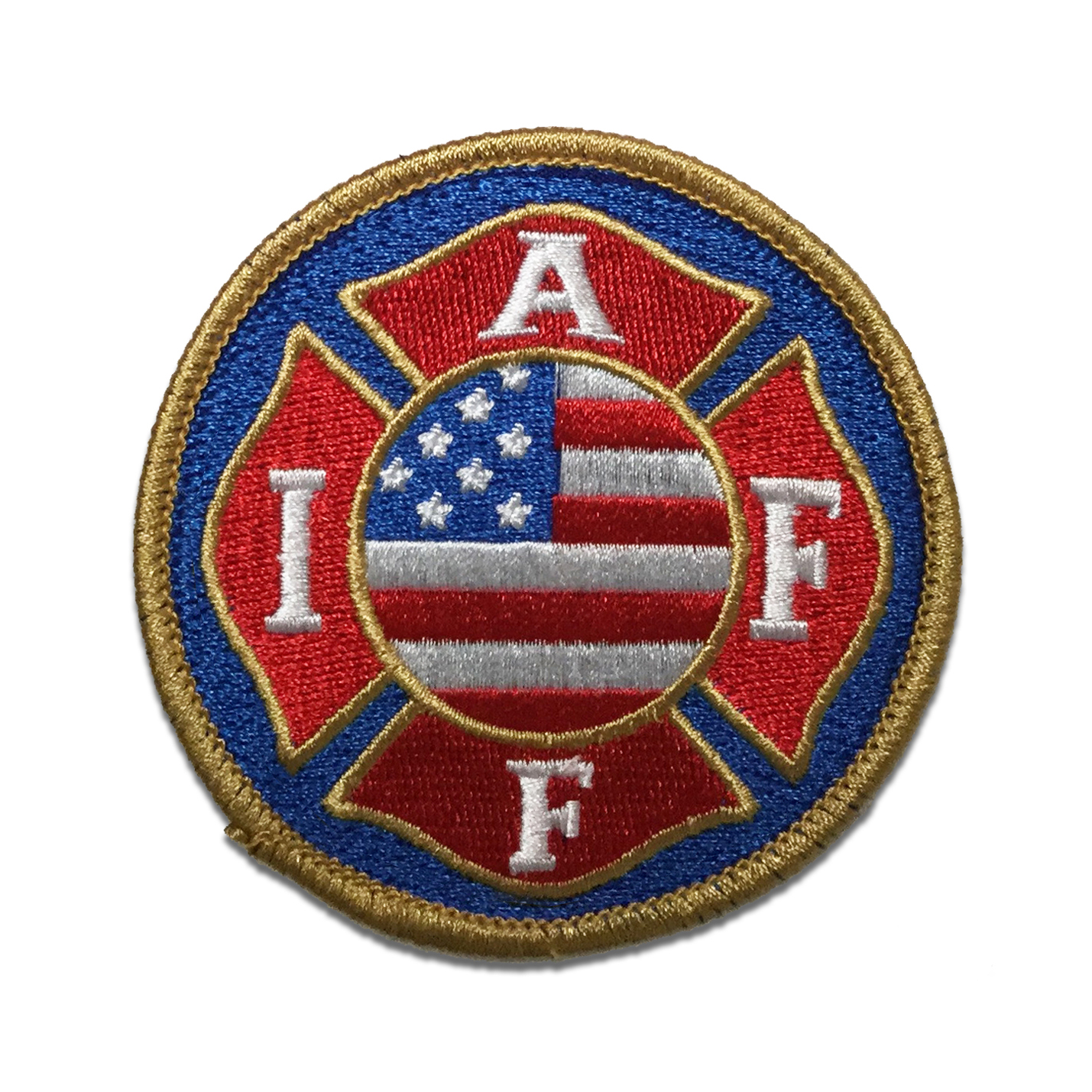 Round USA Patch IAFF Online Store