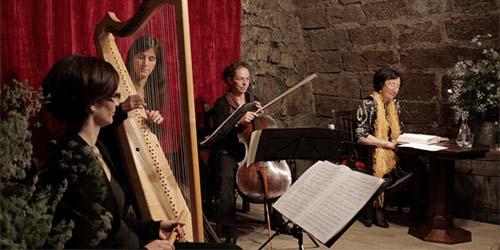 Trio Amabile beim Konzert in Kremsmünster