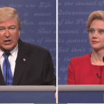 SNL 42nd season premiere cold open first presidential debate