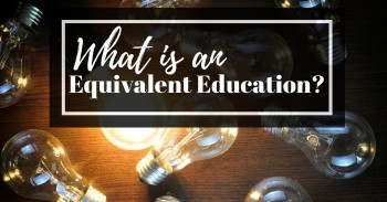 What is an Equivalent Education