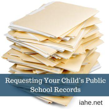 Requesting Your Child's Public School Records
