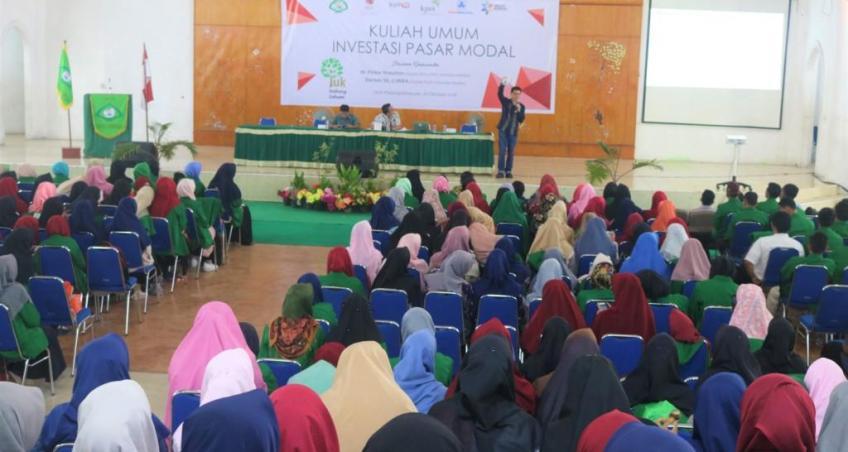Fakultas Ekonomi dan Bisnis Islam Selenggarakan Kuliah Umum Investasi Pasar Modal