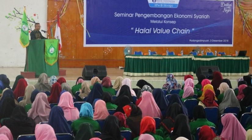 FEBI dan BI Sibolga Tingkatkan Kerjasama Melalui Seminar Halal Value Chain