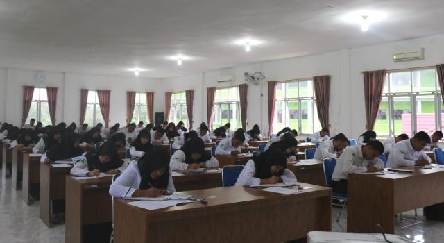 72 Orang Mengikuti Seleksi Kompetensi Bidang (SKB) di IAIN Padangsidimpuan