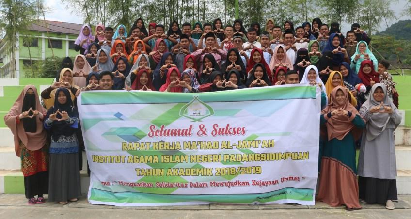 Rapat Kerja Ma'had Al-Jamiah Mengoptimalkan Solidaritas Pembinaan