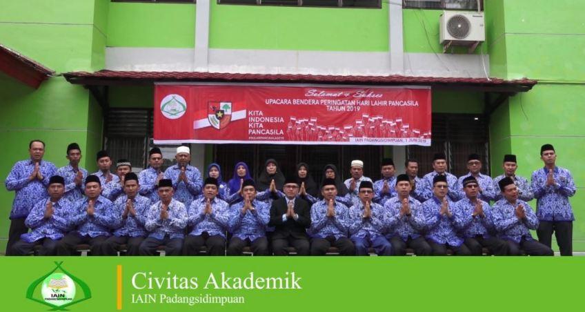 IAIN Padangsidimpuan; Selamat Hari Raya Idul Fitri 1440 H