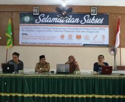 Peningkatan Mutu Kualitas, FTIK IAIN Padangsidimpuan Gelar Sosialisasi DARING