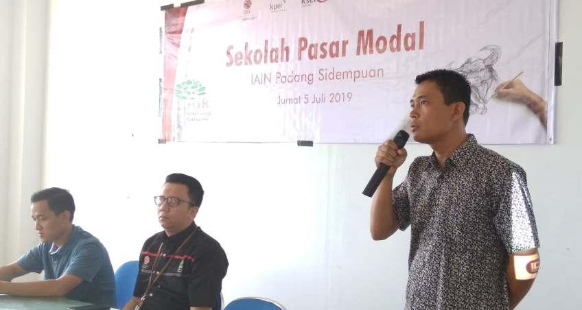 KSPMS SCMC FEBI IAIN Padangsidimpuan Gelar Sekolah Pasar Modal Level 1